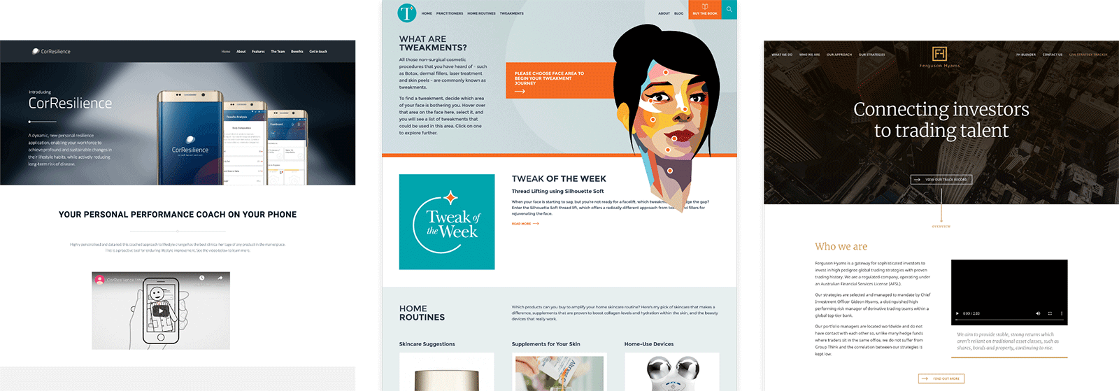 Elemental Concept - Websites